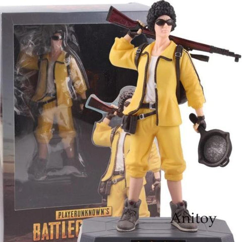PUBG Figurine - Yellow Jacket Wopilix