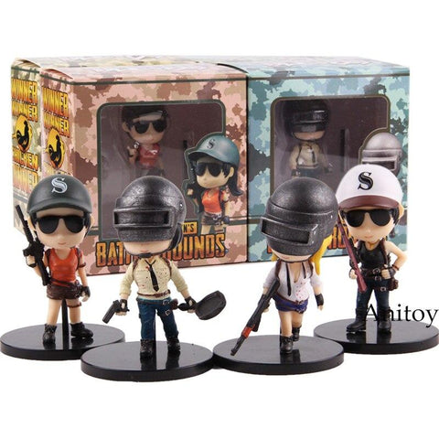 PUBG Funko POP - 4pcs/set v2 Wopilix