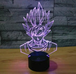 Star Wars 3D LED Light - Visual illusion Wopilix 7color Goku