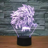 Star Wars 3D LED Light - Visual illusion Wopilix 7color Super saiyan