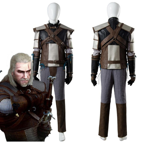 The Witcher Cosplay - Geralt of Rivia Costume Wopilix