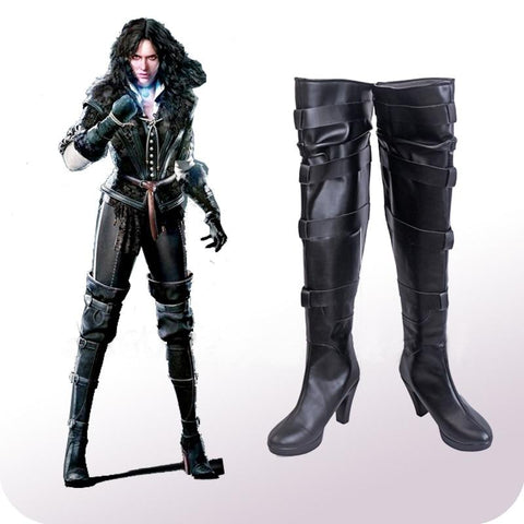 The Witcher Cosplay - Yennefer Boots Wopilix