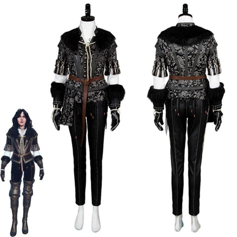 The Witcher Cosplay - Yennefer Suit Uniform Wopilix