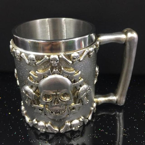 The Witcher Mug - Bones Skull Wopilix