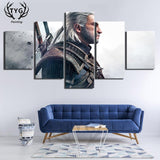 The Witcher Poster - Geralt of Rivia 5 Pieces Wopilix