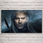 The Witcher Poster - Geralt with Sword Wopilix