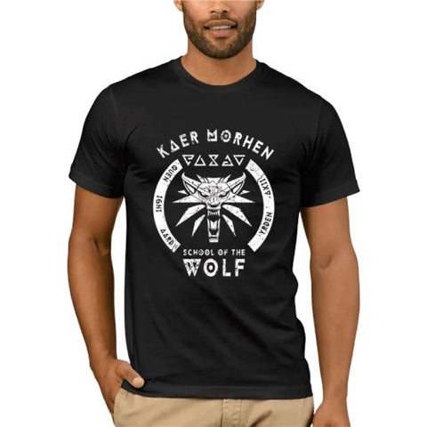 The Witcher T-Shirt - School of the Wolf Wopilix