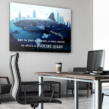 Age Is Just A Number - Canvas Wall Art - Beast Mode Motivational - $79.00