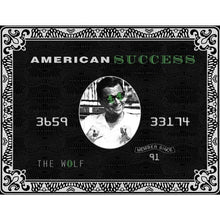 American Success - Canvas Wall Art - Best Seller Entrepreneur Grind Hustle Motivation - $79.00