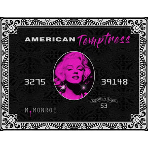 American Temptress - Canvas Wall Art - Best Seller Boss Lady Entrepreneur Grind Hustle - $79.00