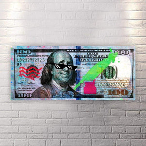 Ben Thug - Canvas Wall Art - Beast Mode Best Seller Entrepreneur Grind Hustle - $79.00