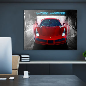 Eye On The Prize - Canvas Wall Art - Entrepreneur Grind Luxury Lifestyle Motivational Street Style - $79.00