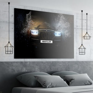 Haunting Eyes - Canvas Wall Art - Best Seller Entrepreneur Grind Luxury Lifestyle Motivation - $79.00