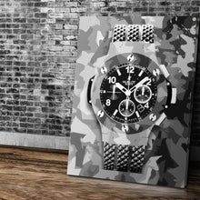 Hublot Inspired Series - Urban Camo Edition - Canvas Wall Art - Luxury Lifestyle Street Style Watches - $79.00