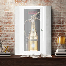 In Case of Party Break Glass - Cristal - Canvas Wall Art - Beast Mode Entrepreneur Luxury Lifestyle Street Style - $79.00