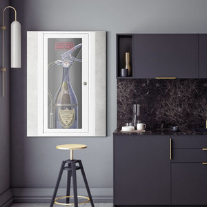In Case of Party Break Glass - Dom Perignon - Canvas Wall Art - Beast Mode Entrepreneur Luxury Lifestyle Street Style - $79.00