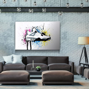 Jrdns 4 - Canvas Wall Art - Pop Culture Street Style - $79.00