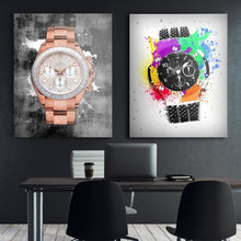 Rose Gold Rollie - Canvas Wall Art - Best Seller Boss Lady Female Boss Luxury Lifestyle Watches - $79.00