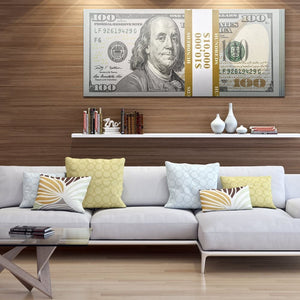 Stacks - Canvas Wall Art - Best Seller Motivation Motivational Street Style - $79.00