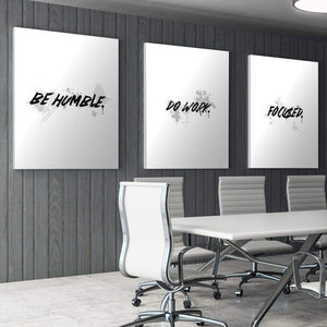 Wht Collection - Be Humble - Canvas Wall Art - Motivational - $79.00