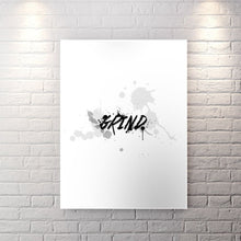 Wht Collection - Grind - Canvas Wall Art - Best Seller Entrepreneur Grind Motivation Motivational - $79.00