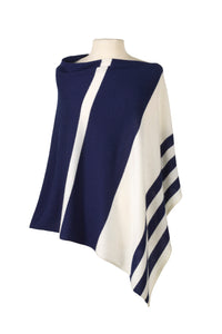 Stripped Cashmere Cape (CURRENTLY OUT OF STOCK)