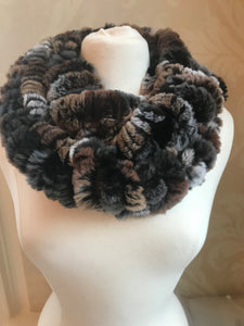 Rex Rabbit Slouchy Infinity Scarf (CURRENTLY NOT IN STOCK)