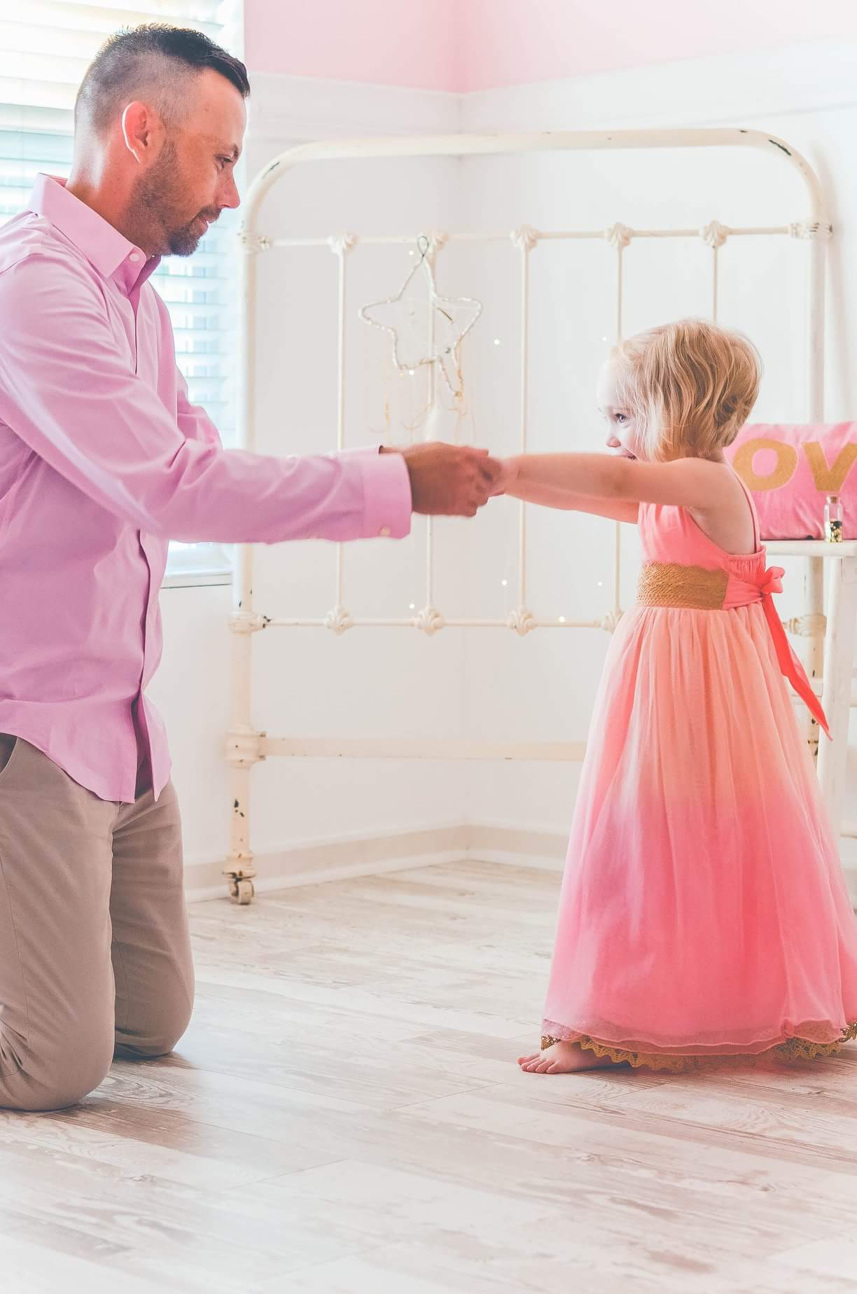 daddy daughter dance  magic childhood little ladies princesstwinkle twinkle gold star dreamcatcher dream catcher dreamer boho bohemian sparkle glitter lsdreams l.s dreams
