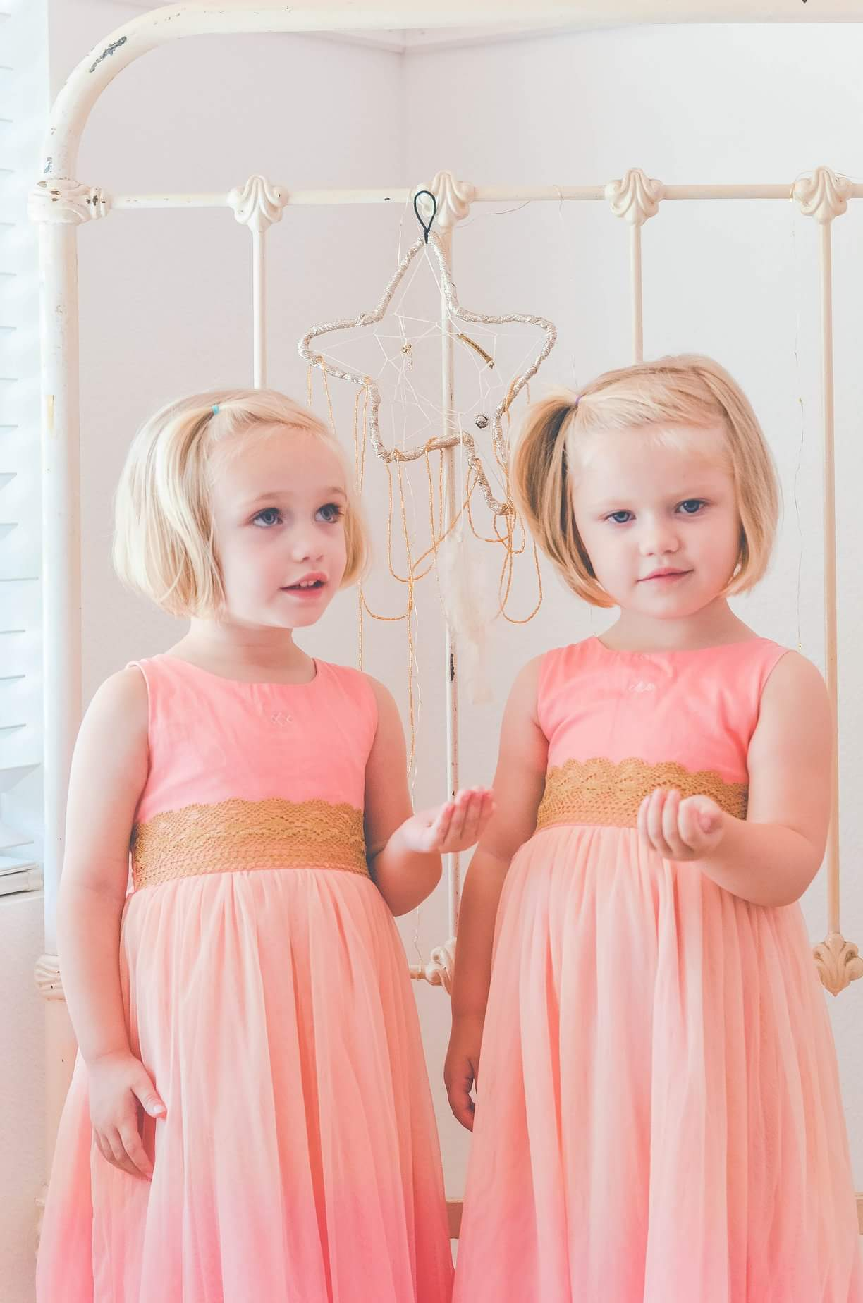 twins magic childhood little ladies princesstwinkle twinkle gold star dreamcatcher dream catcher dreamer boho bohemian sparkle glitter lsdreams l.s dreams