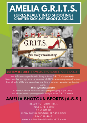 Amelia G.R.I.T.S. (Girls Really Into Shooting) Chapter Kick-Off Shoot & Social