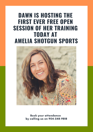 Dawn is hosting the first ever FREE Open Session of her training this Friday, March 15th