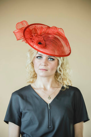 Mother of bride fascinator hat