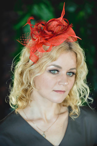 fascinator hat aurelia
