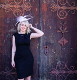 "Pillbox fascinator hat ""Tanya"""