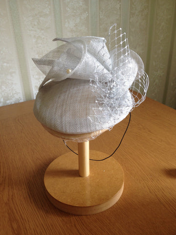 Mother of bride fascinator hat, Royal Ascot hat