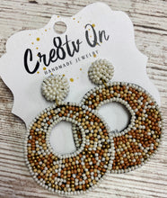 Beaded Statement Earring