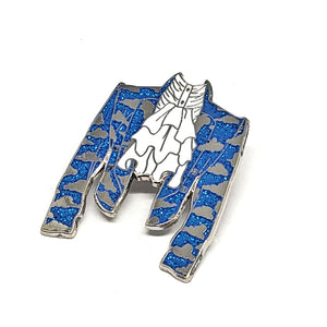 Cloud Jacket Hard Enamel Pin