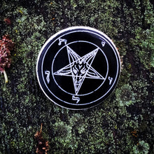 Sigil of Baphomet Pentagram Brooch