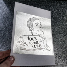 Christopher Tracy Wrecka Stow Foil Print + *Your Name Here Option Available*