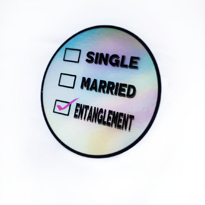 Entanglement Holographic Sticker