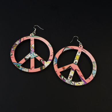 Peace 1987 Earrings