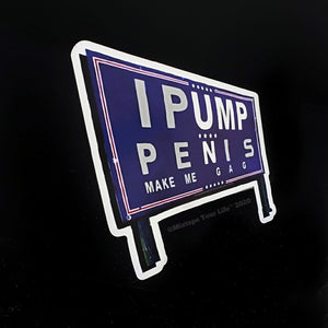 Trump Pence 2020 Parody Sign Magnet