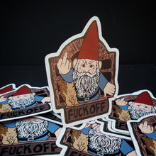 Angry Gnome and Squirrel Magnet