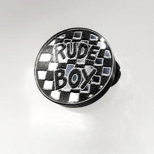Rude Boy Mirror Acrylic Magnetic Brooch