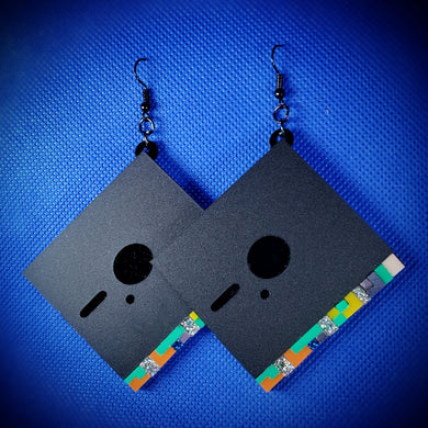 Blue Monday 2020 Earrings