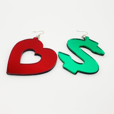 Love or Money Earrings