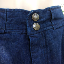 "Early 1970's Calvin Klein dark wash blue jeans! RARE! 27"" inseam"