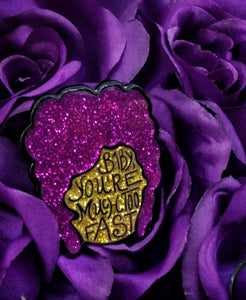 You're Much Too Fast Soft Enamel Pin