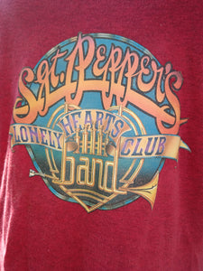Vintage Beatles Sgt. Peppers Iron On Teeshirt Transfer!