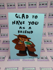 "The Shape of Water ""Glad To Have You As A Friend"" Print"